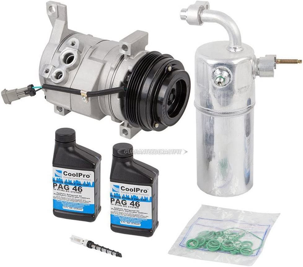 AC Compressor A C Repair Kit For Chevy Avalanch Tahoe Shipping included Suburban In stock