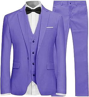 Veston de Costume Homme, Regular Fit, Confort et Performance