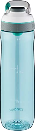 Contigo AUTOSEAL Cortland Water Bottle, 24 oz, Greyed Jade