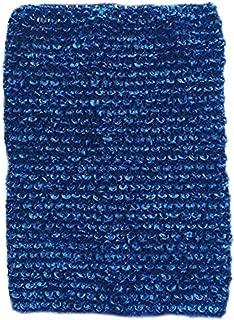 KADIWOW Toddlers Crochet for 5-10 Years, Baby Toddlers Girl Crochet Tutu Tube Tops Dark Blue 6