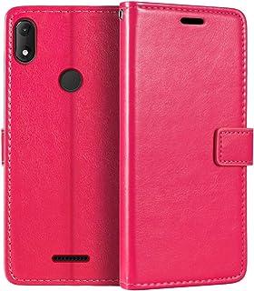 Wiko View Max plånboksfodral, premium PU-läder magnetiskt flip fodral med korthållare och ställ för Wiko View Max