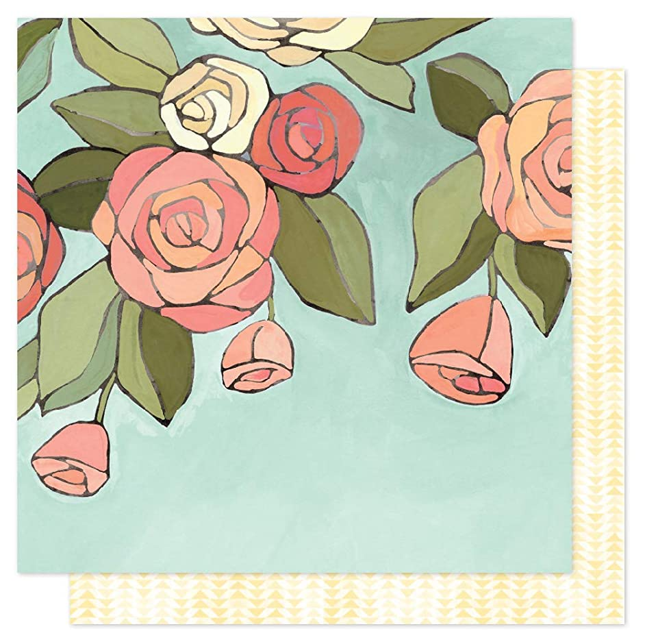 One Canoe Two 351145 Afternoon Roses Paper, Multi