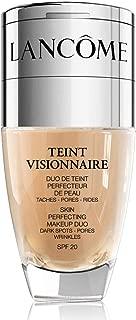 Lancome Teint Visionnaire - 045 Sable Beige - Skin Perfecting Makeup Duo (1.0oz + 0.1oz), 1oz