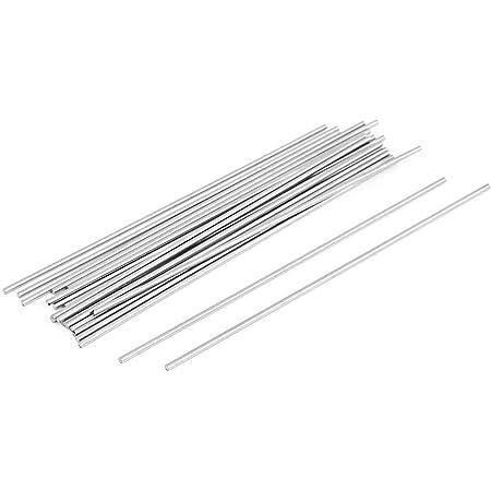 Rond Tige 1.5 mm Diamètre 100 mm longueur HSS Lathe Bar stock de bricolage outil 20 pcs