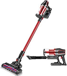 iwoly i9 CordlessVacuum Cleaner 2 in 1 Lightweight Bagless Stick and HandheldVacuum with Powerful LED Floor Head