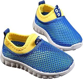 DEBAIJIA Filles Garçon Chaussures de Sport 2-8 Ans Réseau Enfant Tissu Occasionnel Douce Mode De Mode Non-Slip Mignon Bask...