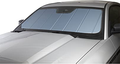 Covercraft UV10973BL - Series Heat Shield Custom Fit Windshield Sunshade for Select Volkswagen Jetta Models  - Laminate Material (Blue Metallic)
