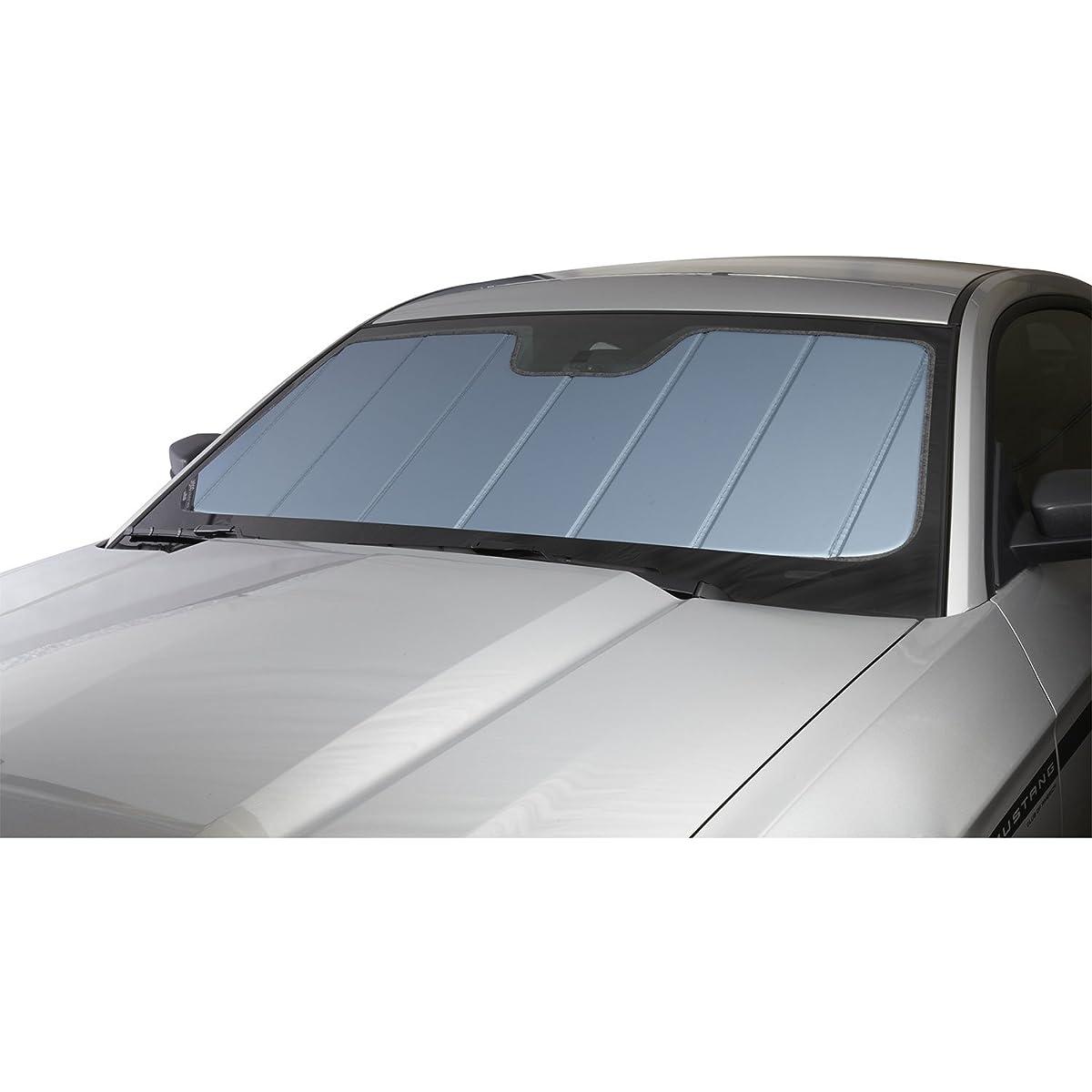 Covercraft UV10166BL Blue Metallic UVS 100 Custom Fit Sunscreen for Select Ford Mustang Models - Laminate Material, 1 Pack