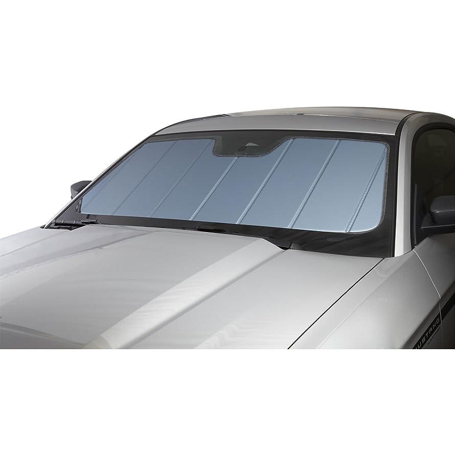 Covercraft UV10761BL Blue Metallic UVS 100 Custom Fit Sunscreen for Select Kia Spectra Models - Laminate Material, 1 Pack