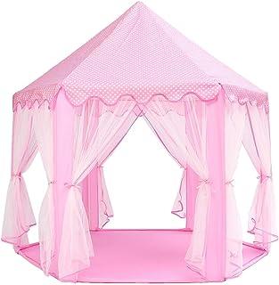 HO-TBO speltält, bärbar Princess Castle speltält aktivitet Fairy hus rolig lekstuga leksak flerfärgad alternativ spel hus ...