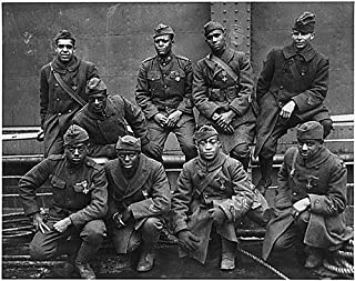 AFRICAN AMERICAN SOLDIERS WORLD WAR I GLOSSY POSTER PICTURE PHOTO one 1 usa