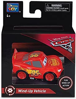 "Disney Pixar Cars 3 - 2.5"" Wind Up Vehicle - Lightning McQueen"