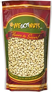 Raw Pine Nuts (Whole and Natural) (2 Lbs) We Got Nuts: