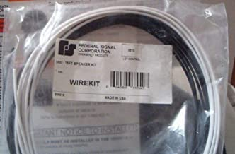 Siren Speaker Wire Pn 206818 Works with AS124 + PA300 Federal Signal 15'