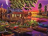 - Geno Peoples - Alquiler de canoa de Stephanie - Rompecabezas de 1000 piezas 29.5 * 19.7in