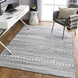 Artistic Weavers Bohemian Moroccan Kenna Area Rug, 5'3' x 7', Gray