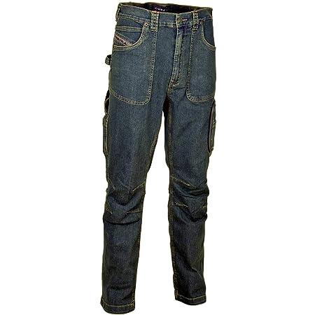 /0-00.z62/Pantaloni da lavoroBarcelona Taglia 62 Blu Cofra V152/