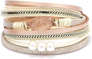 pink wrap bracelet