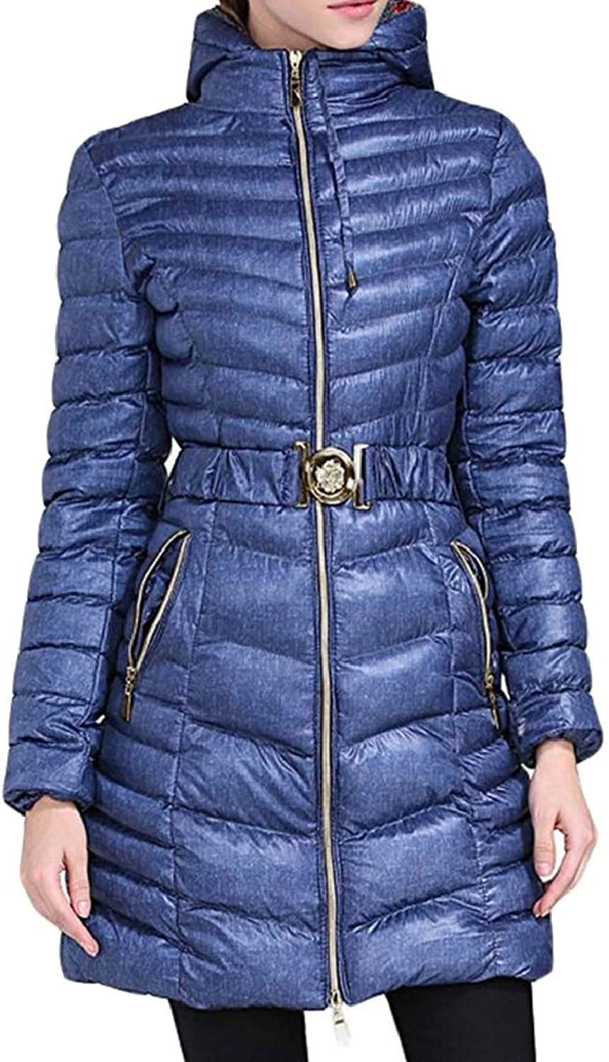 Jxfd Women's Winter Warm Hooded Down Coat Puffer Parka Jacket Coat