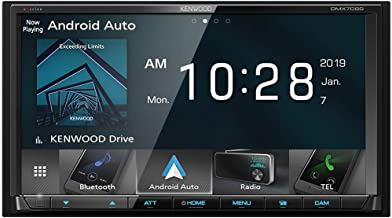 """Kenwood DMX706S 7"""" Digital Media Receiver with Apple CarPlay and Android Auto"""