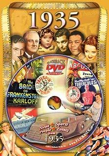 1935 Flickback DVD Greeting Card: Great Birthday or Anniversary