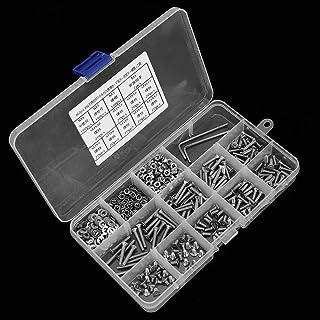 100/unidades, 23/mm de di/ámetro, 23/x/6,5/mm SBS/® 356 Tornillos niquelados con forma de roseta