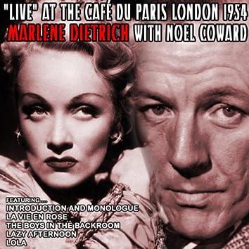 Live at the Café du Paris London 1954 with Noel Coward