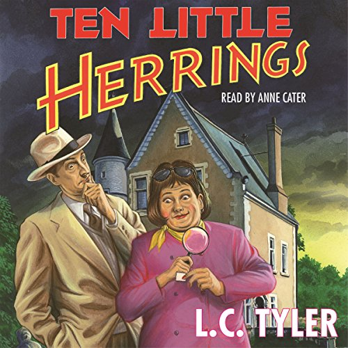 Ten Little Herrings audiobook cover art