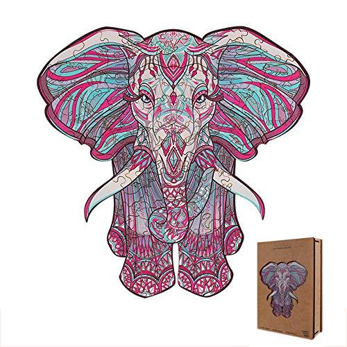 Carpintería puzzle gato dragón elefante pez zorro León búho ardilla lobo singular animal puzzle puzzle puzzle adulto y niño relleno de juguetes