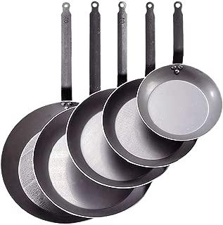 De Buyer Moul 'flex Round Frying Pan Set, White Diamètre 45 Stainless steel