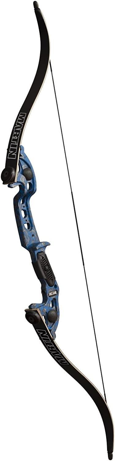 Martin Archery Water Reaper 29  Saber Fishing Bow Kit, blueee, Large