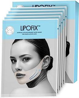 Sponsored Ad - Double Chin Reducer Intense Lifting Double Layer Mask LipoFix - 5 Masks
