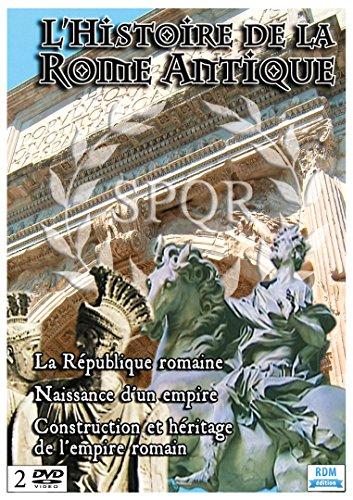 Coffret Histoire de la Rome Antique, vol. 1 et 2