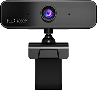 Web Camera Computer Laptop Camera 1080P HD for Conference Video Call Live Streaming Noise-Canceling Manual Zoom
