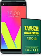 LG V20 Battery, TAYUZH Upgraded 4200mAh Li-Polymer Replacement BL-44E1F Battery for LG V20 AT&T H910, T-Mobile H918, Verizon VS995, Sprint LS997, US996 Spare Battery [24 Month Warranty]