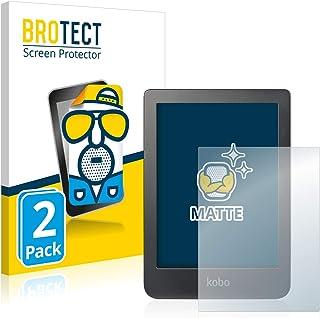 """BROTECT 2x Antireflecterende Beschermfolie compatibel met Kobo Clara HD (6"""") Anti-Glare Screen Protector, Mat, Ontspiegelend"""