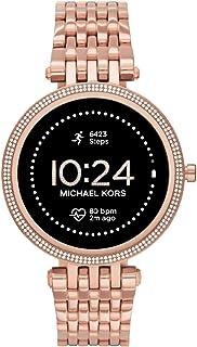 Michael Kors Women Gen 5E Darci Touchscreen Smartwatch with Speaker, Heart Rate, GPS, NFC, and Smartphone Notifications