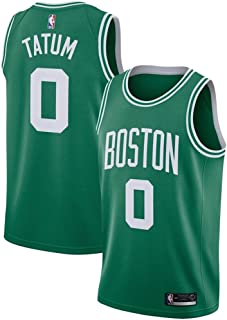 Forever Collectibles Men's Boston Celtics #0 Jayson Tatum Statement Edition Swingman Jersey