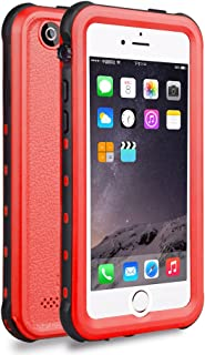 Zimu Joy iPhone 5 5S SE Waterproof Case, IP68 Certified Waterproof Shockproof Dirtproof Snowproof Heavy Duty Protective Cover, Full Sealed Case with Built-in Screen Protector for iPhone 5 5S SE