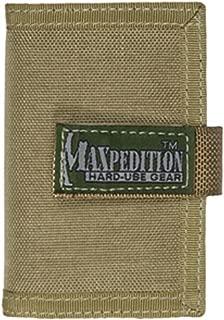 Gris Maxpedition Porte-Carte de cr/édit Gris - BFWGRY