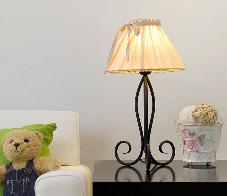 GZEALL GZEALL GZEALL Iron Art Tischleuchte Creative Schlafzimmer Bedside Button Schalter Licht European Style Hotel Wohnzimmer Tischlampe E27 Lampe B07GJNT6GM     | Elegant Und Würdevoll  223e02