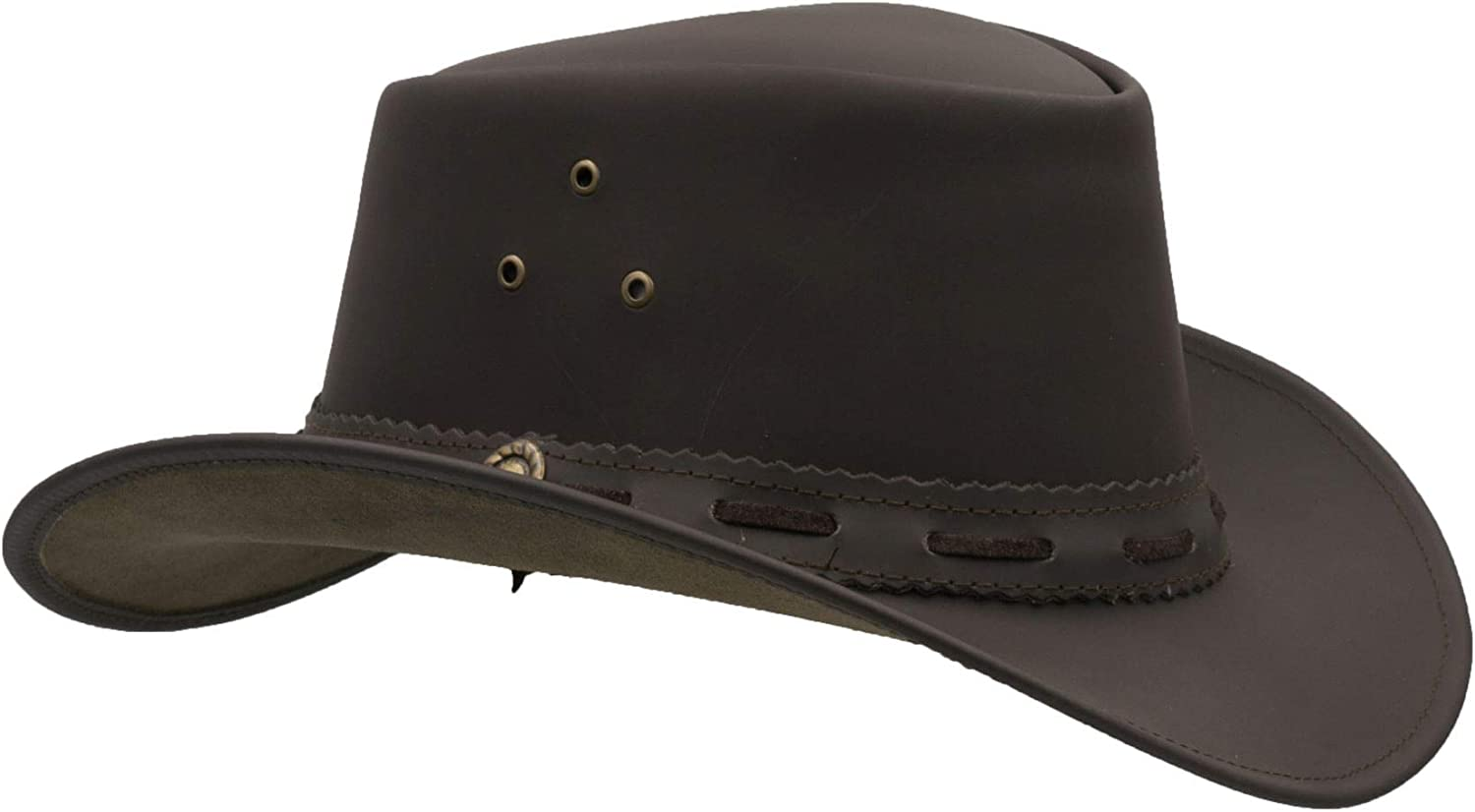 Walker and Hawkes - Leather Cowhide Sales for sale Popularity Outback Hat Waterproof