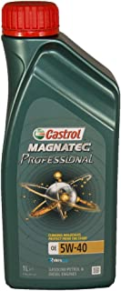 Castrol Magnatec Profesional 5W-40 – Aceite Totalmente Sintético.