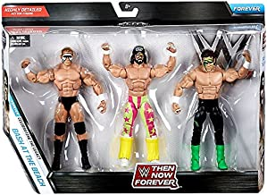 WWE, Elite Collection Then Now Forever, Bash at the Beach Exclusive Action Figure 3-Pack (Randy Savage, Sting, and Lex Luger)
