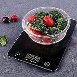 SHOPPOSTREET Electronic Flat Panel Digital Kitchen Scale Weighing Machine with sensor system Kitchen