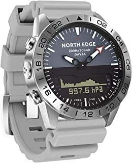 Smart Herenhorloge Waterdicht 200m Hoogte Kompas Duiken Sport Horloge Waterdichte Bluetooth Hartslag Bloeddruk Bloed zuurs...