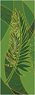 Symbols of the Liturgy Series X-Stand Church Banner for Lent / Easter - Palm, 63 Inch