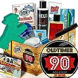 Geschenkidee zum 90. / Männer Pflege Geschenkset DDR / Oldtimer 90