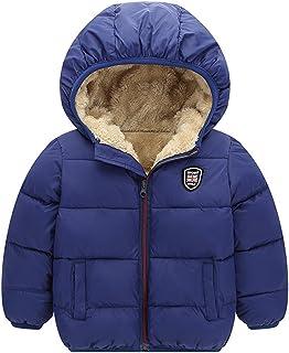 Baywell Winter Warm Coat, Little Girls Boys Outwear Hoodie Jacket