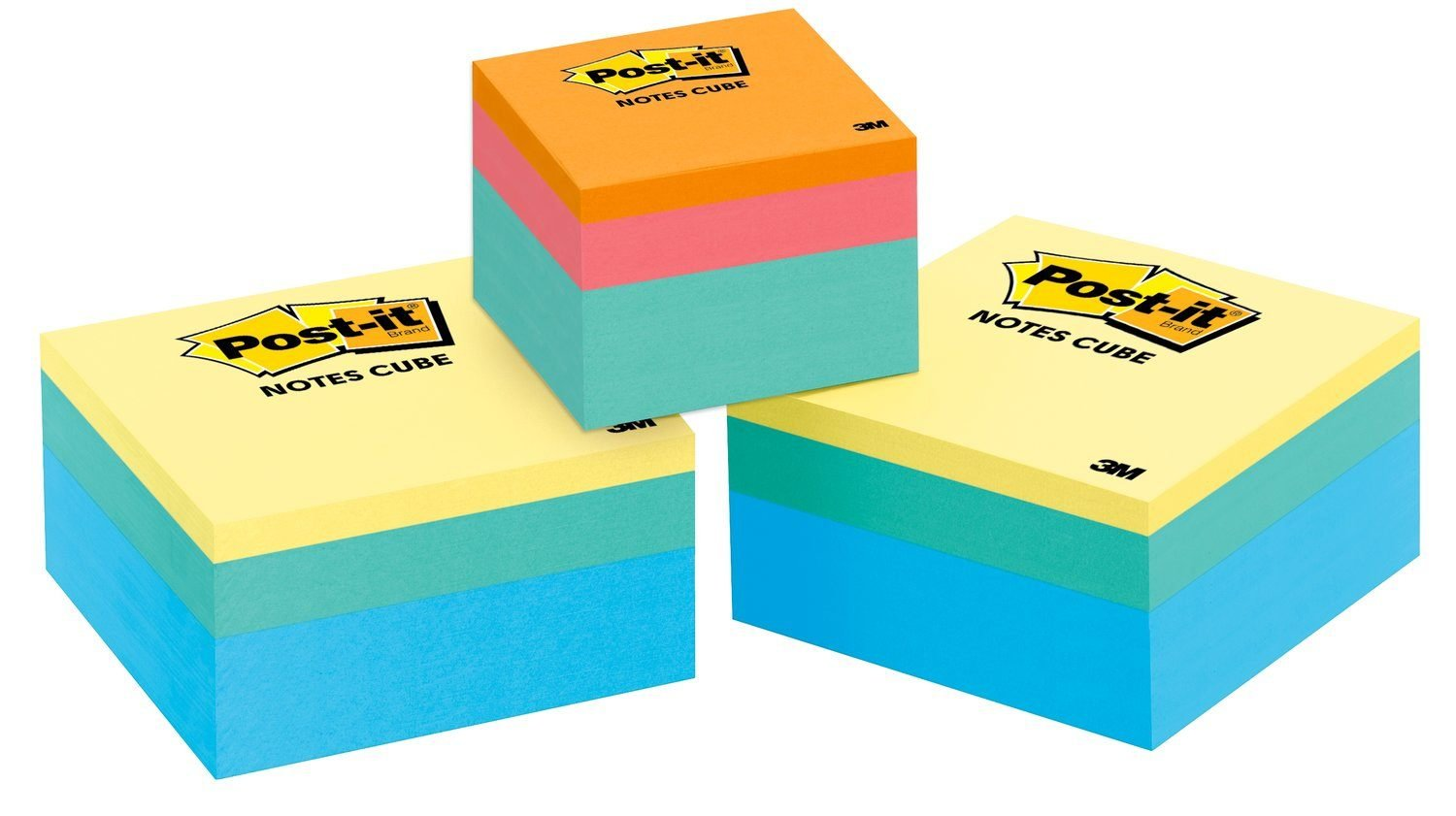 Post-it Notes Cube Value Pack, 3 in x 3 in, 400 Sheets/cubo, 2 ...